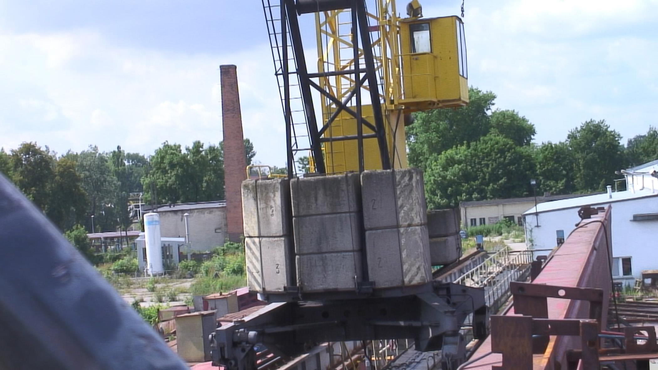Kadr z filmu Z Żelaza