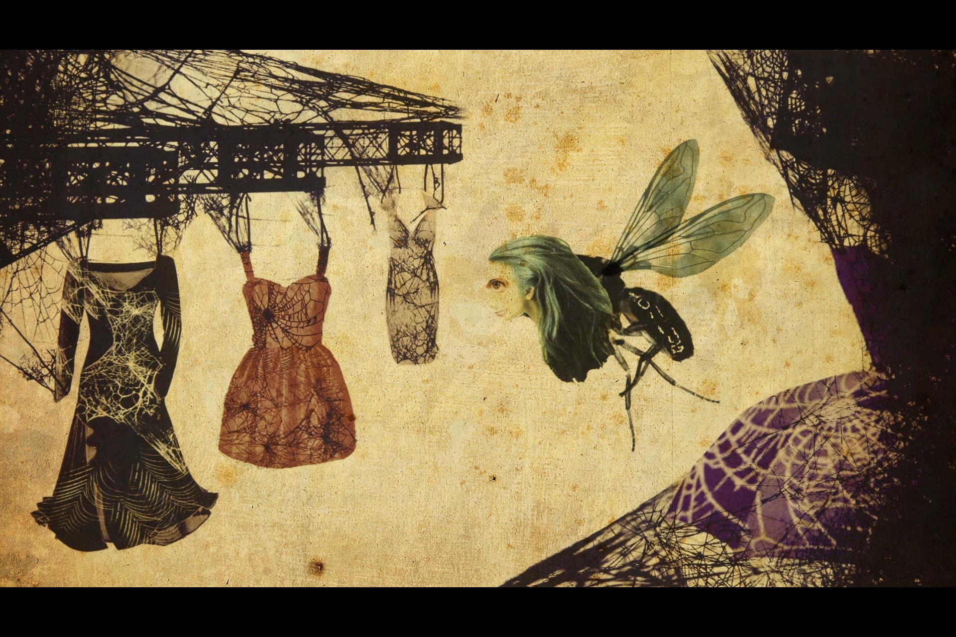Kadr z filmu PajĄk i Muchy