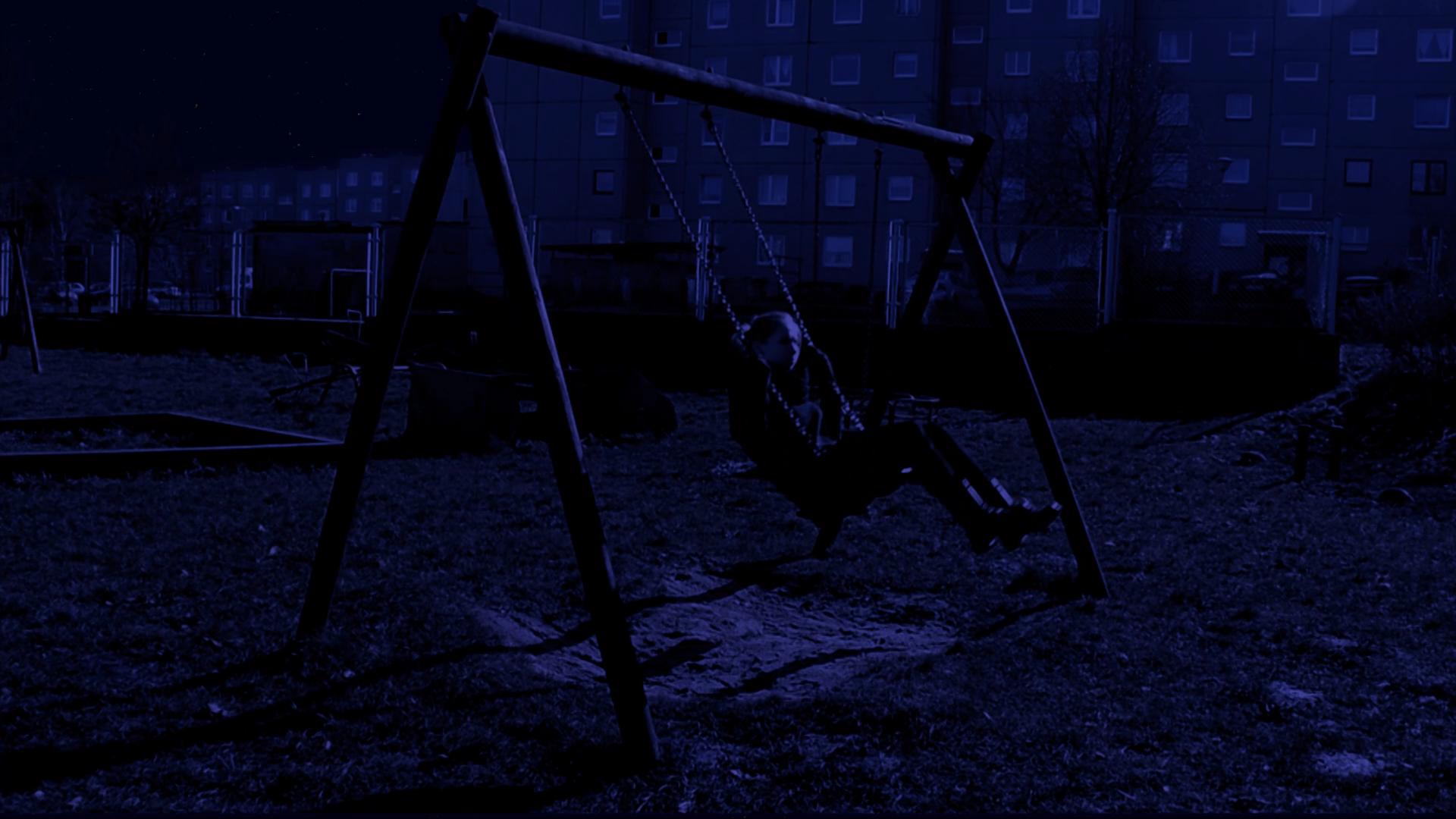 Kadr z filmu HuŚtawka