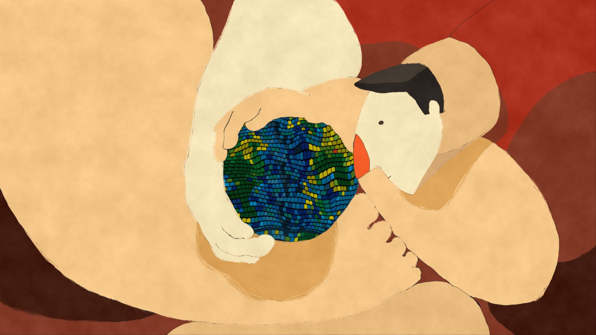 Kadr z filmu Nieprawdopodobnie elastyczny czŁowiek
